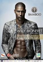 Willy Monfret în Club Bamboo din Bucureşti