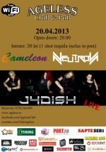 Concert Jadish în Ageless Club din Bucureşti