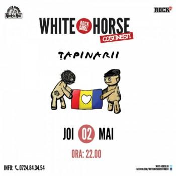 Concert Ţapinarii la deschiderea White Horse din Costineşti