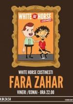 Concert Fără Zahăr în White Horse din Costineşti