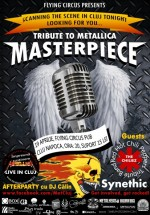 Concert Masterpiece – Tribute to Metallica în Flying Circus Pub din Cluj-Napoca