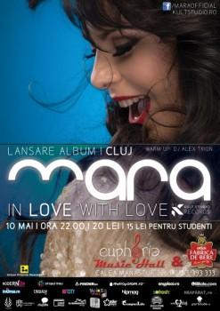Lansare album Mara în Euphoria Music Hall din Cluj-Napoca