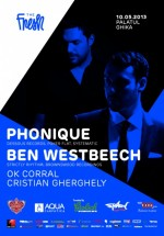 Phonique & Ben Westbeech la Palatul Ghika din Bucureşti (CONCURS)