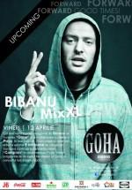 Concert Bibanu MixXL în Goha Studio din Braşov