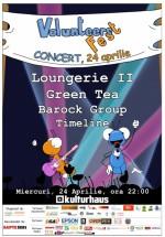 Concertul voluntarilor în Kulturhaus din Bucureşti