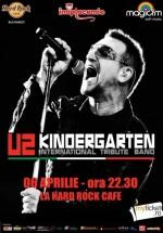 Concert Kindergarten – Tribut U2 în Hard Rock Cafe din Bucureşti