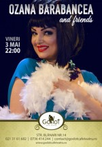 Concert Ozana Barabancea & Friends în Godot Cafe-Teatru din Bucureşti