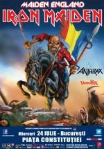 Concert Iron Maiden în Piaţa Constituţiei din Bucureşti