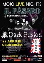 Concert Il Pasaro în Club Mojo din Bucureşti