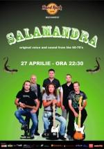 Concert Salamandra în Hard Rock Cafe din Bucureşti