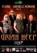 Concert Uriah Heep la Arenele Romane din Bucureşti – ANULAT