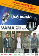Concert Vama în Goha Studio din Braşov