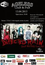 Concert Infected Rain în Ageless Club din Bucureşti