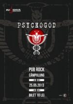Concert Psychogod în Pub Rock din Câmpulung Muscel