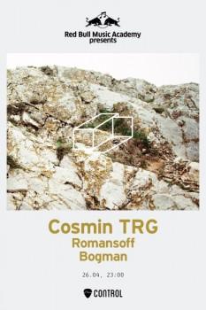 Lansare album Cosmin TRG în Control Club din Bucureşti