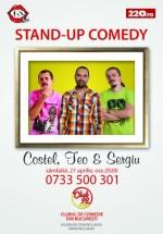 Stand-Up Comedy în Club 99 din Bucureşti