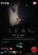 Concert Eraas în Panic! Club din Bucureşti