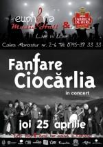 Concert Fanfare Ciocărlia în Euphoria Music Hall din Cluj-Napoca