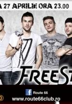 Concert FreeStay în Route 66 Club din Bucureşti