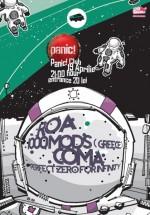 R.O.A., 1000Mods, Coma şi Perfect Zero for Infinity în Panic! Club din Bucureşti