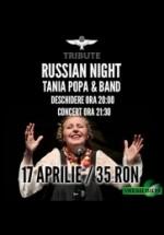 Concert Tania Popa & Band în Club Tribute din Bucureşti