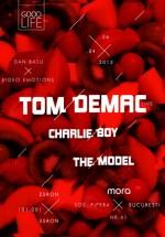 Tom Demac în Mora Avangarde Club din Bucureşti