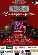 Concert pentru prieteni – Tribut în Ageless Club din Bucureşti