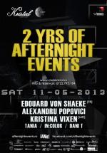 2 ani de AfterNigHt events în Kristal Club din Bucureşti