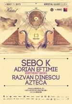 Sebo K & Adrian Eftimie B-day Bash în Kristal Club din Bucureşti