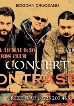 Concert Contraste în Bastards Club din Bucureşti
