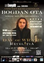 """Concert Bogdan Ota – Day of Wrath – """"Revelaţia"""" la Cinema Patria din Bucureşti"""