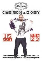 Concert Cabron & Iony în The Vintage Pub din Bucureşti