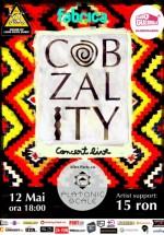 Concert Cobzality în Club Fabrica din Bucureşti