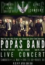 Concert Popas Band la Route 66 din Bucureşti