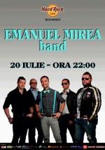Emanuel Mirea Band în Hard Rock Cafe din Bucureşti