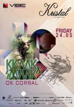 Kraak & Smaak DJ Set în Kristal Club din Bucureşti
