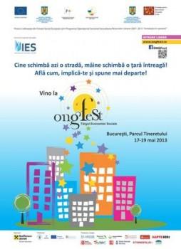 ONGFest 2013 în Parcul Tinertului din Bucureşti