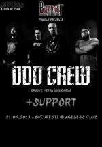 Concert Odd Crew în Ageless Club din Bucureşti