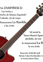 Concert Trio Zamfirescu în Restaurantul La Rambla din Bucureşti