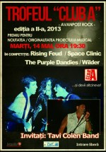 """Trofeul """"Club A"""" – Avanpost Rock în Club A din Bucureşti"""