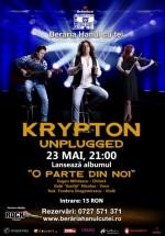 Concert şi lansare album Krypton Unplugged la Berăria Hanul cu Tei din Bucureşti