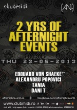 2 Years Anniversary AfterNigHt events în Club Midi din Cluj-Napoca