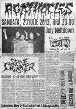 Concert Agathocles în Private Hell Club din Bucureşti