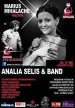 Concert Analia Selis & Band la Restaurantul Şarpele Roz din Bucureşti
