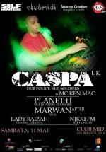 Caspa & MC Ken Mac în Club Midi din Cluj-Napoca