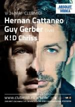Hernan Cattaneo & Guy Gerber (live) în Club Midi din Cluj-Napoca