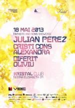 Julian Perez în Kristal Club din Bucureşti