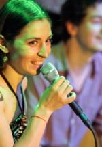 POZE: Luiza Zan & Jimmy Cserkesz la GuerriLIVE Acoustic Session