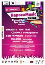 Napoca Music Event 2013 la Cluj-Napoca