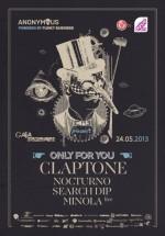 Claptone în Gaia Boutique Club din Bucureşti